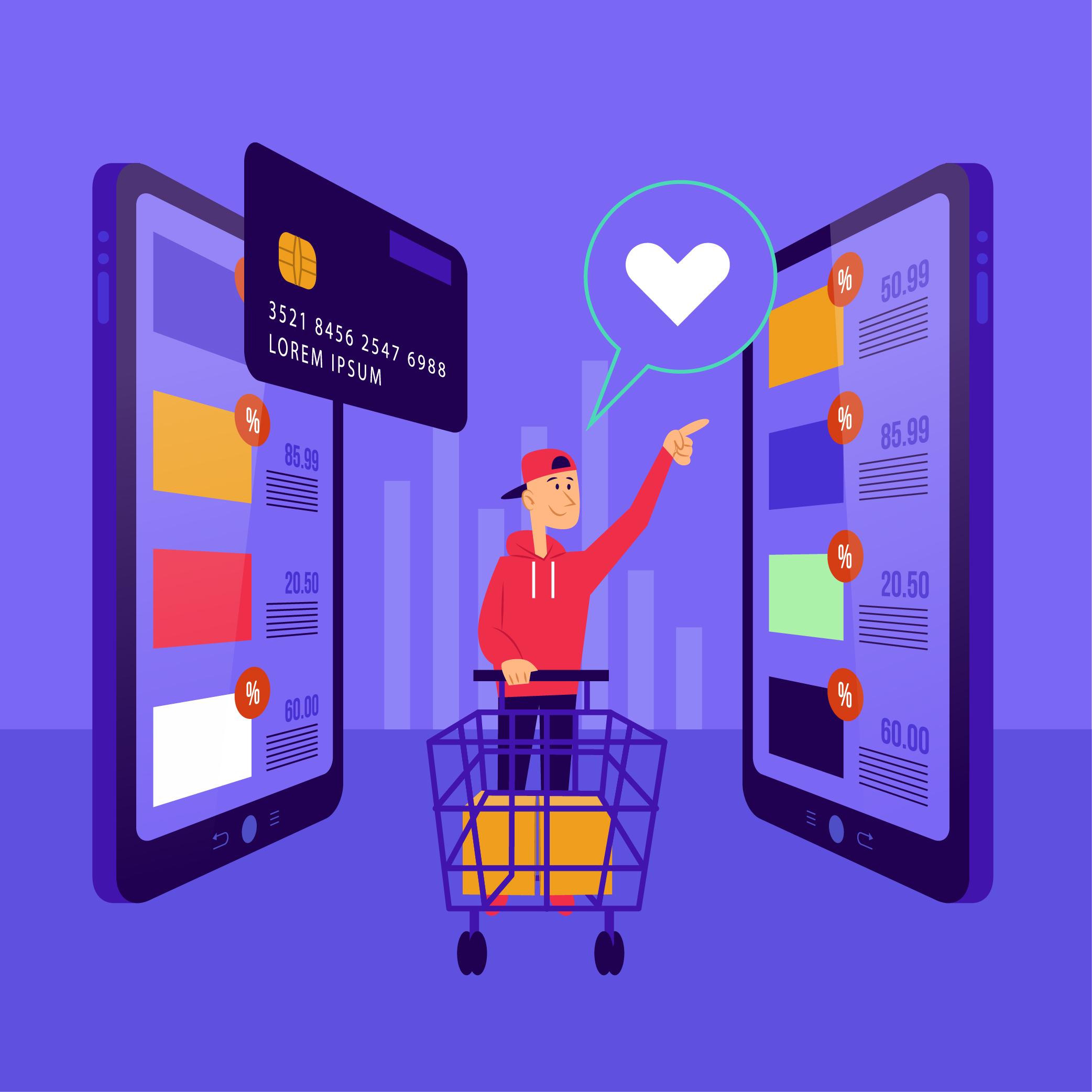 Quy trình chọn mua và đặt cọc đơn hàng