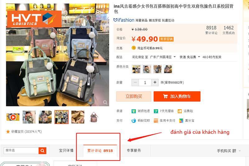 Kinh nghiệm nhập hàng trên Taobao giúp bạn trở thành chuyên gia