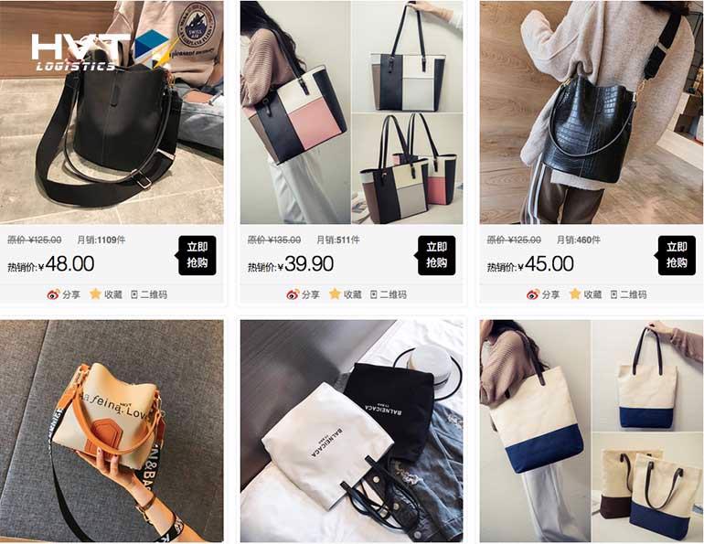 Mua order túi xách trên Taobao.com Chất Lượng Giá Rẻ Uy Tín