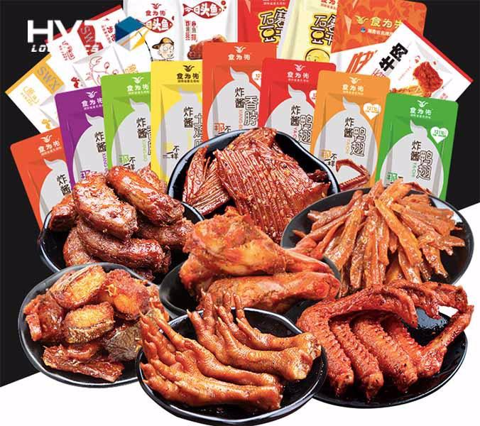 """Đồ ăn vặt Trung Quốc nội địa """"THOẢ MÃN"""" đam mê ăn vặt"""