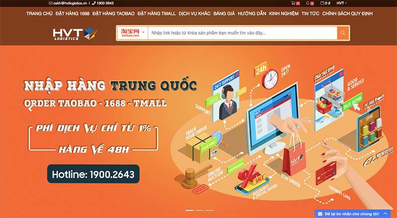 Mua hàng Quảng Châu online qua các công ty trung gian