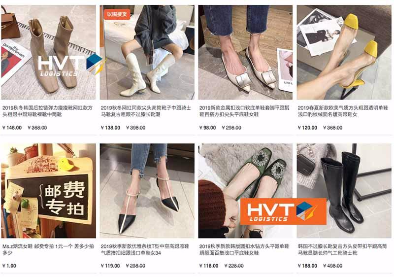 Mua giày dép Quảng Châu giá sỉ