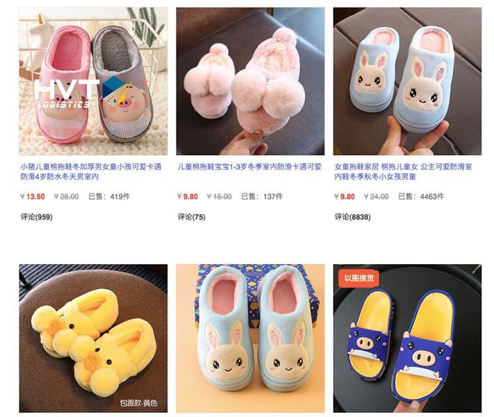Link order giày trẻ em taobao