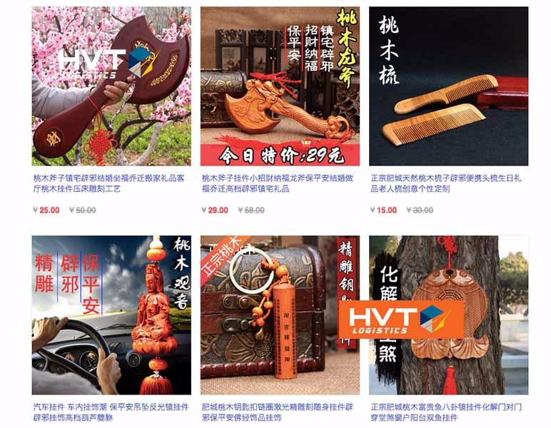 Link order đồ phong thuỷ taobao