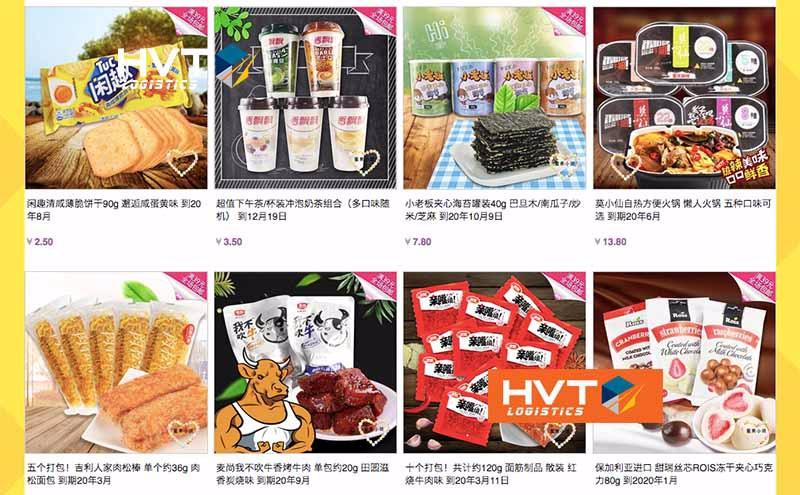Link order đồ thực phẩm taobao