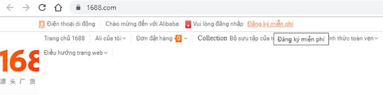 Cách đặt hàng 1688 về Hà Nội Việt Nam