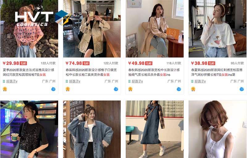 Nguồn hàng mua sỉ quần áo Quảng Châu ở TPHCM