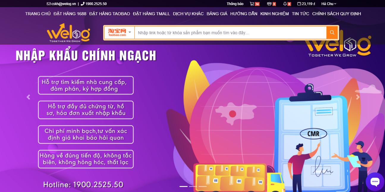 Top 5 địa chỉ các trang web đặt order hàng Quảng Châu Taobao uy tín