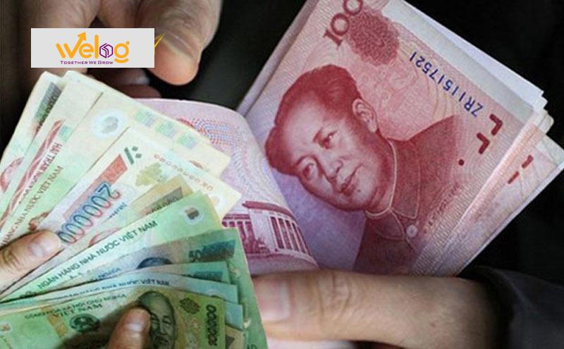 Nhân dân tệ bằng bao nhiêu tiền Việt Nam Đồng