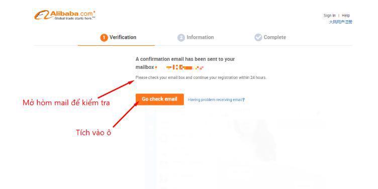 Welog hướng dẫn đăng ký tài khoản alibaba