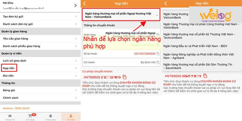 Hướng dẫn đặt hàng taobao bằng điện thoại