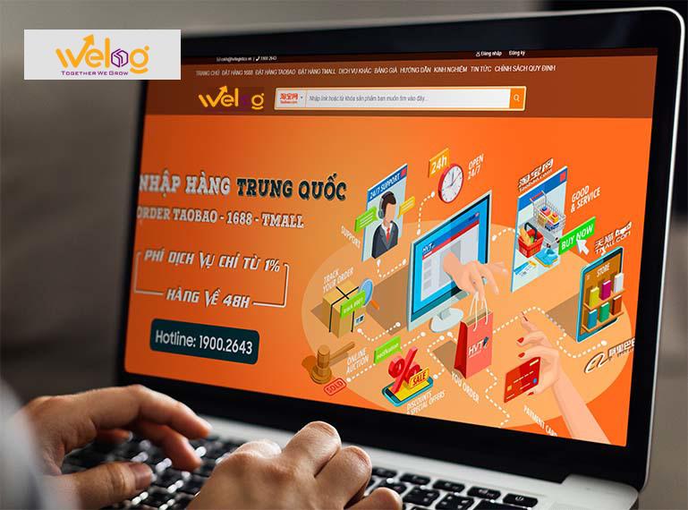 Địa chỉ đặt hàng quảng châu uy tín chất lượng WeLog