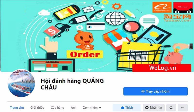 Dễ dàng tìm các hội đi đánh hàng Quảng Châu giá rẻ trên facebook