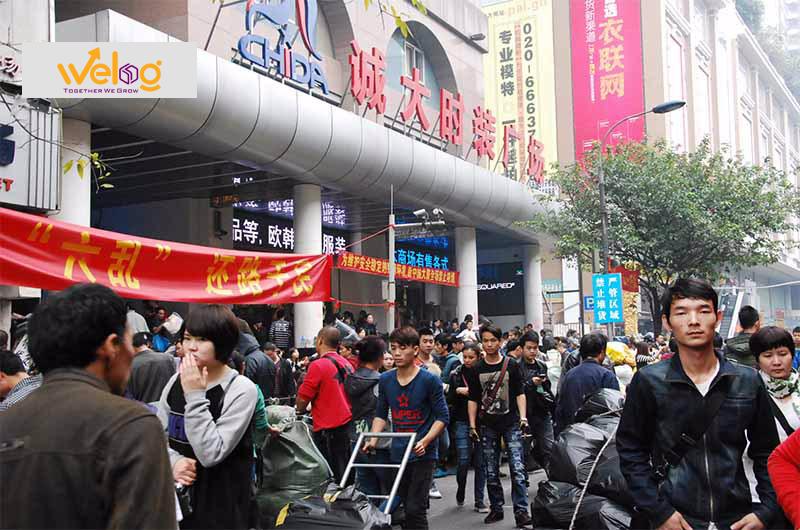 Các chợ ở Quảng Châu khi đi đánh hàng