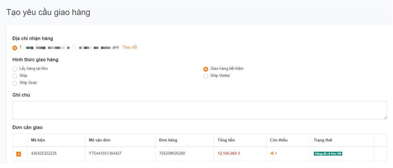 Hướng dẫn cách đặt hàng Taobao về Việt nam