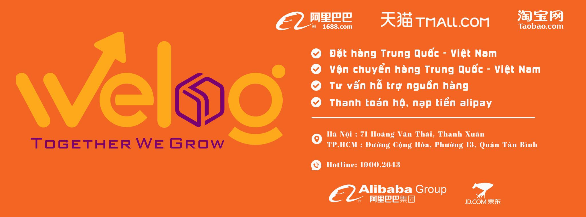Trang mua hàng taobao 1688 uy tín giá rẻ tại Hà Nội
