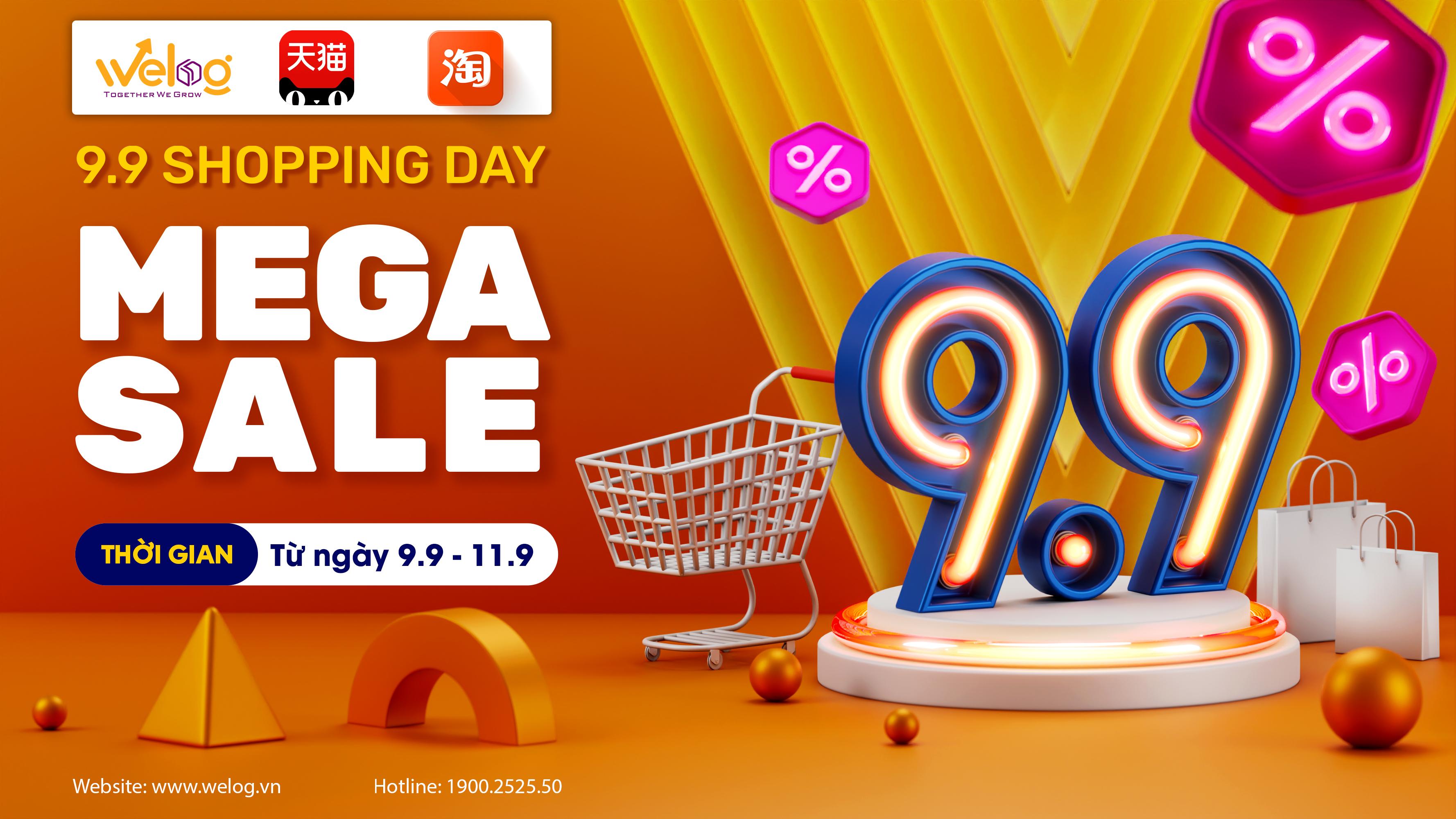 Taobao tmall sale 9.9